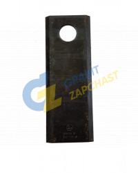 Нож косилки КРН-2.1, 60-0150-04-01-7 длинный